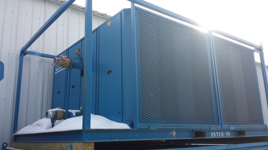 35tch 35 0 Ton Air Cooled Portable Chiller Rental