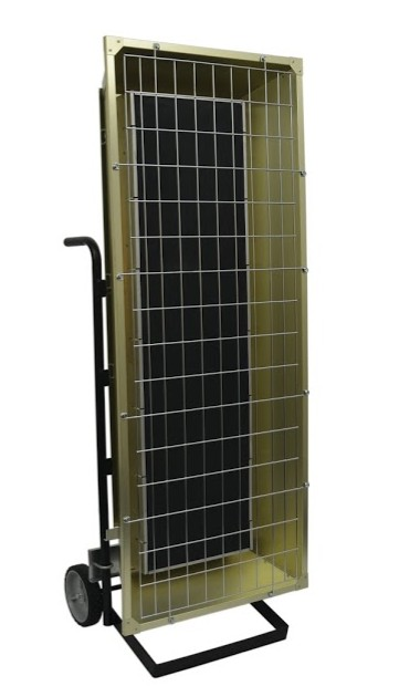 Portable Electric Radiant Floor Heating For Under Area: TPI Fostoria Infrared Heater FSP-9527-3 Portable Electric