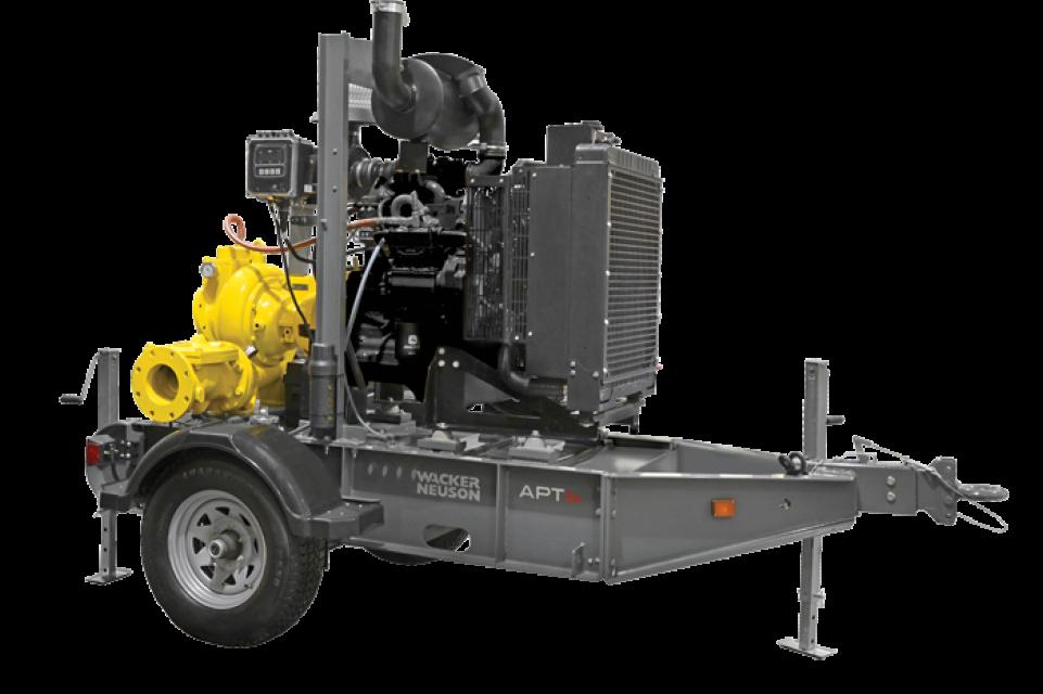 Wacker Neuson Apt6 6 Inch Centrifugal Trash Pump