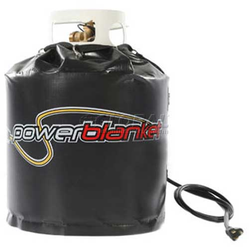 Powerblanket Gcw20 20 Lb Propane Gas Cylinder Insulated