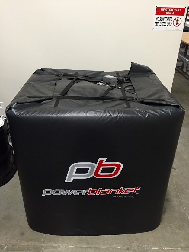 Natural Gas Shop Heater >> Powerblanket TH275 Insulated IBC Tote Heater 275 Gallon Capacity