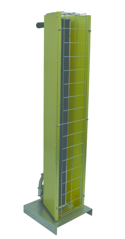 Portable Electric Radiant Floor Heating For Under Area: TPI Portable Electric Infrared Heater FSP-3120-1 Heavy