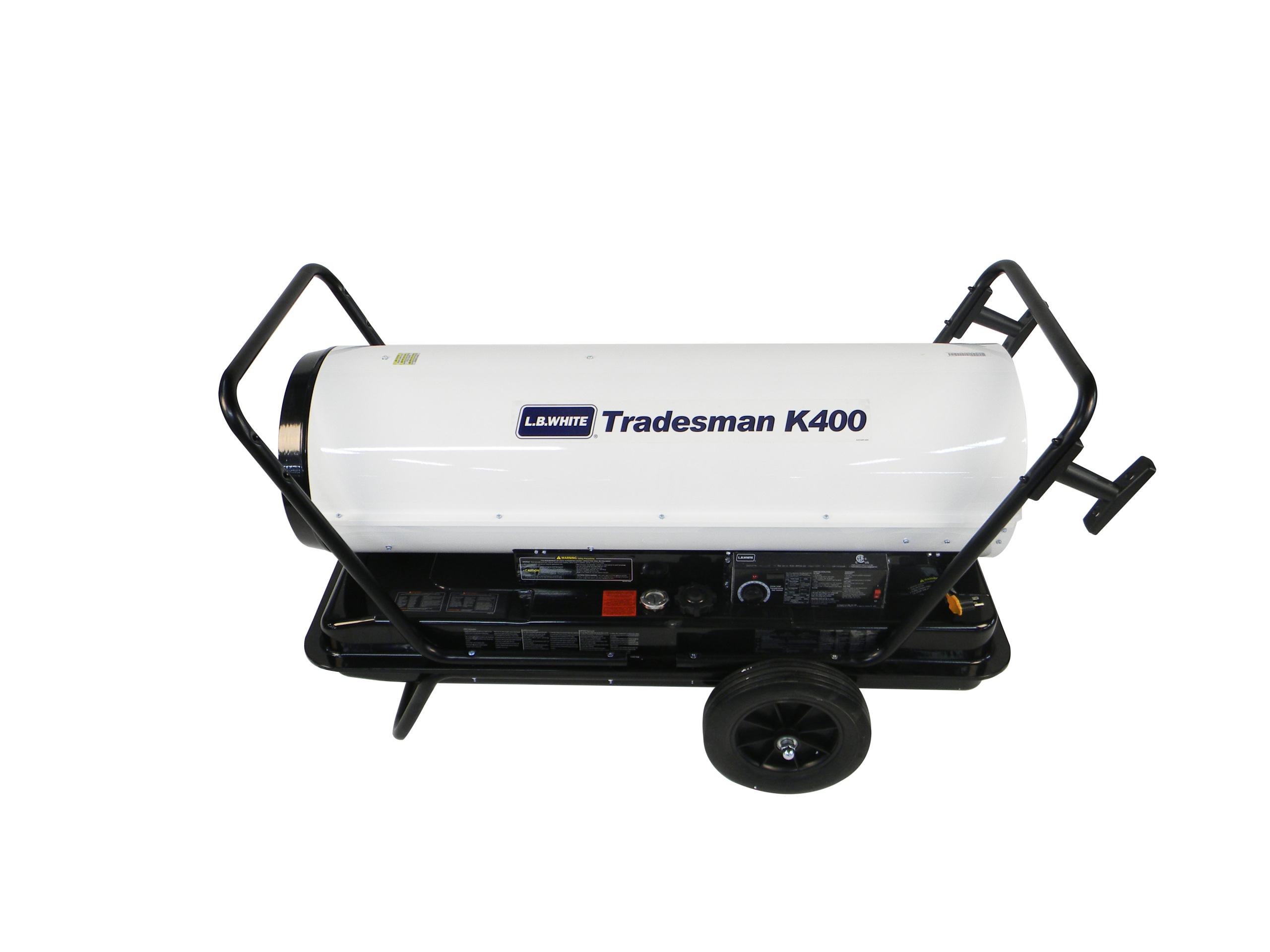 Lb White Tradesman K400 Heater 400 000 Btuh Kerosene 1